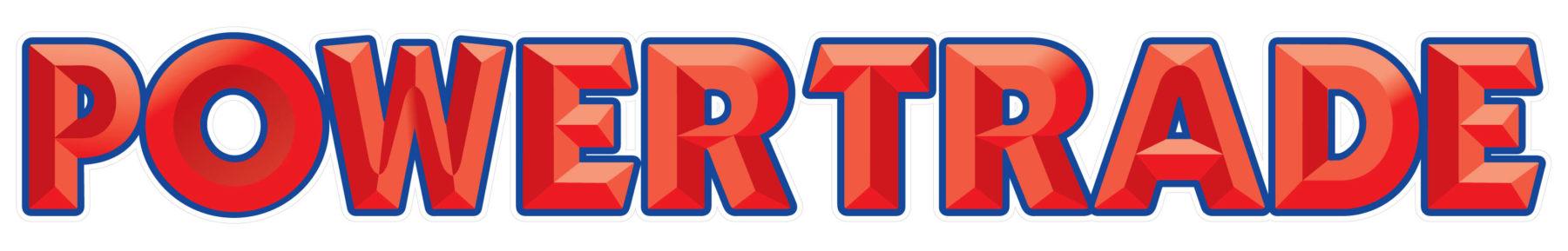 Powertrade 3d bar logo