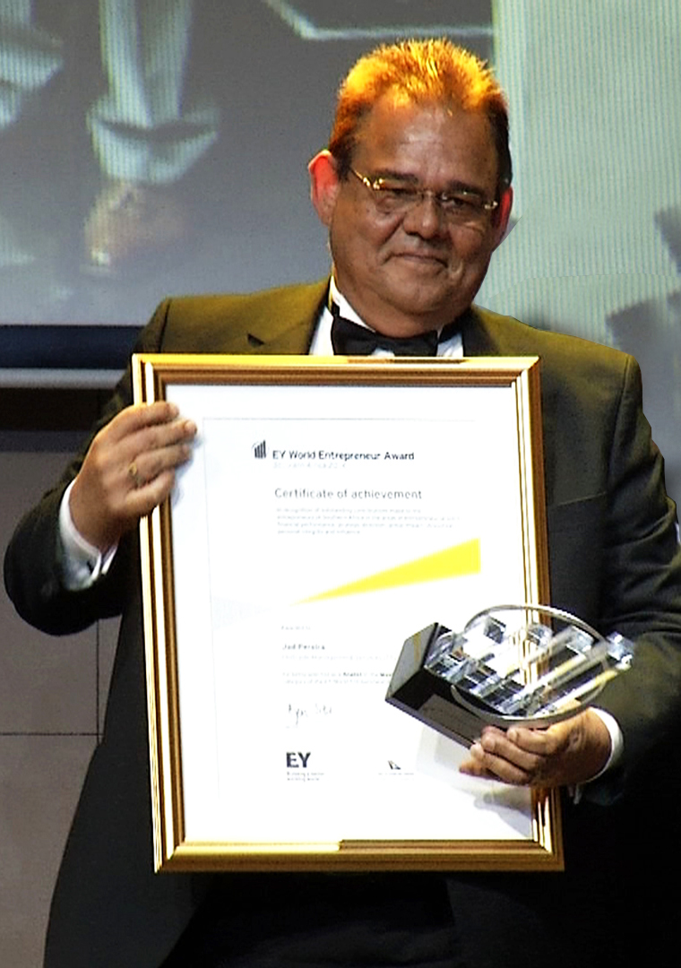 EY World Entrepreneur Award 2014