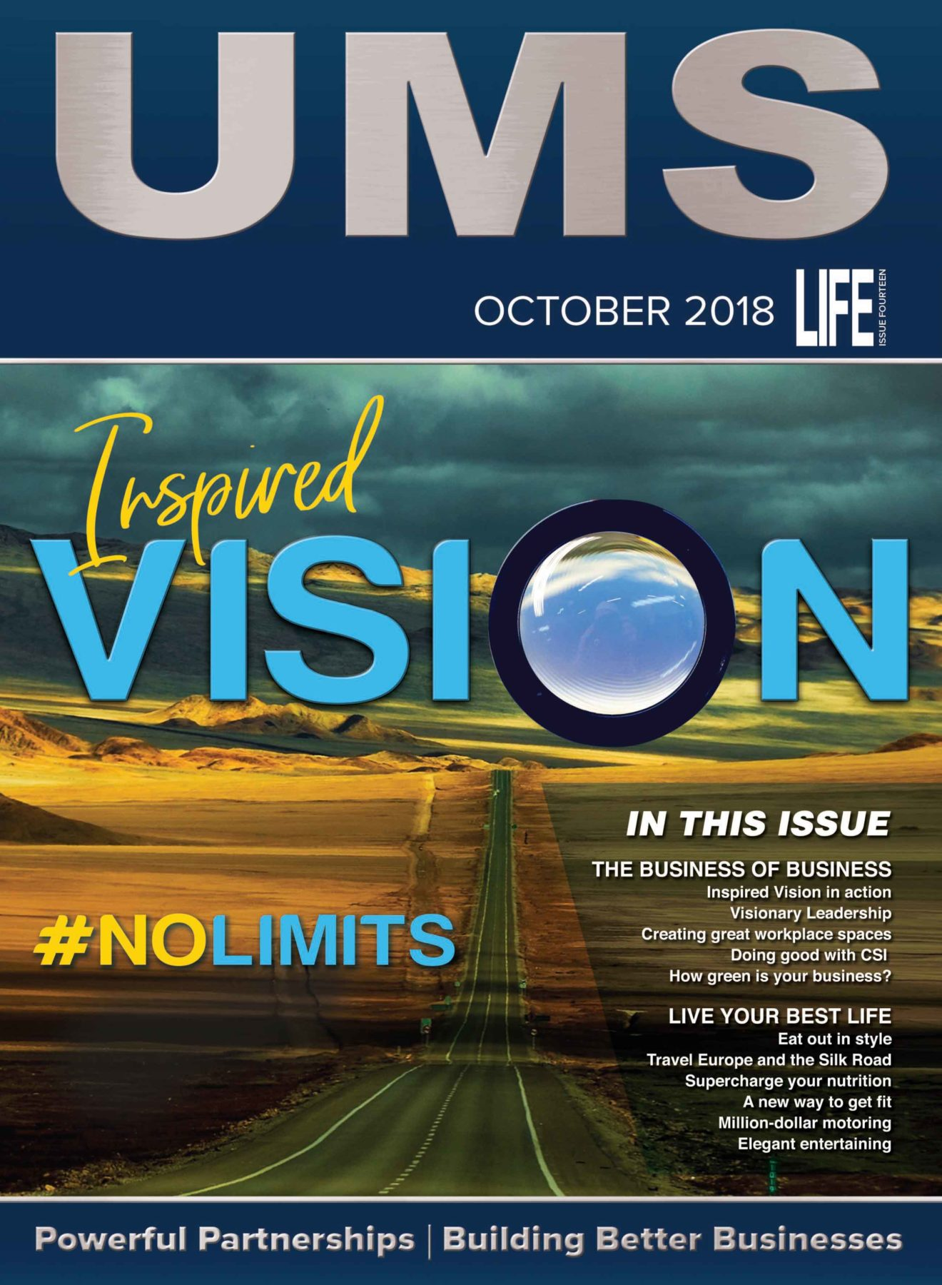 UMS Life 2018 - Cover